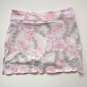 Women's Soft Floral Workout Skort Size XS